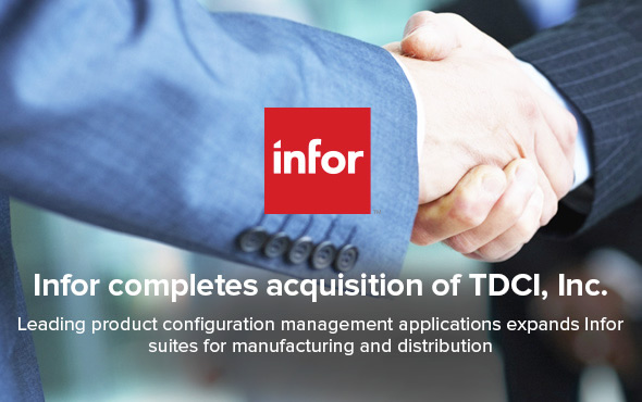 Infor completes acquisition of TDCI,Inc
